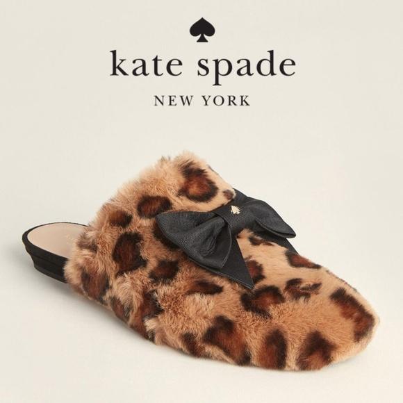 Leopard Flats Jocelyn Faux Fur Slippers